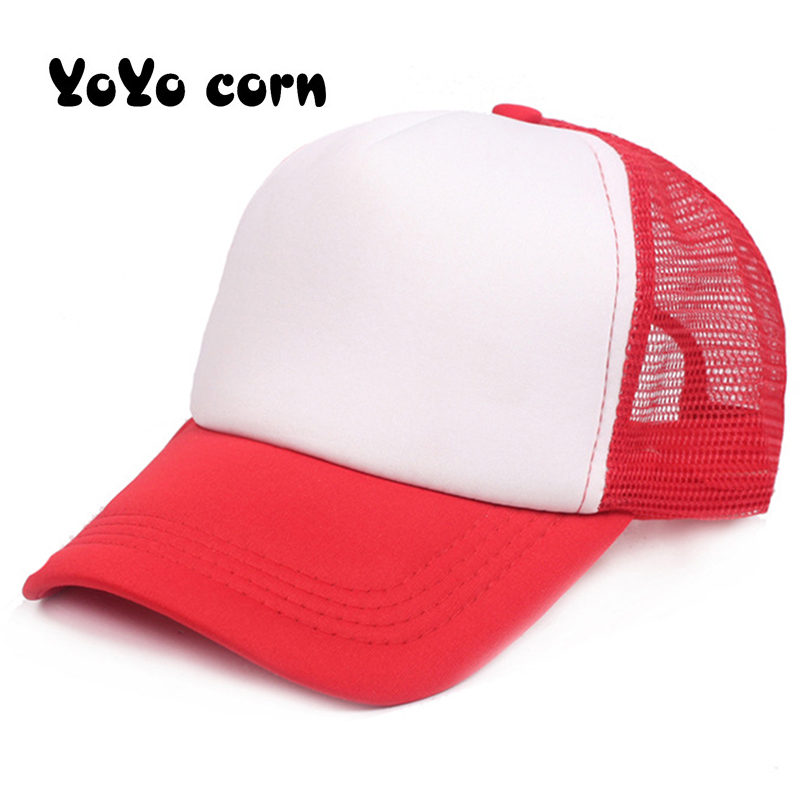 YOYOCORN Sun Hat Copy Cosplay Coser Dustin Summer Snapback Mesh Net Trucker Hats Adjustable Stranger Things Dustin Baseball Cap