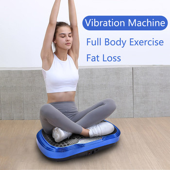 Whole Body Workout Vibration Plate Exercise Machine Fitness Platform Training ems muscle