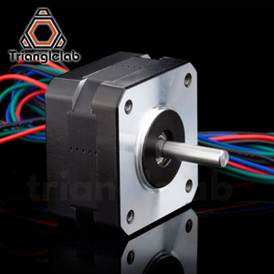 Image 4 - Trianglelab titan Stepper Motor 4 lead Nema 17 23mm 42 motor 3D printer extruder for J head bowden reprap mk8