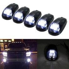 5pcs 9SMD 3030 LED Cab גג למעלה מרקר ריצת אורות למשאית SUV 4x4 (אמבר צהוב/לבן)