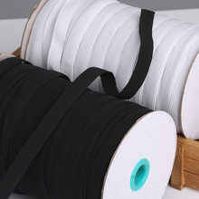 Banda el/ástica de 3 mm a 9 mm de ancho para accesorios de cara manualidades o cintura costura manualidades por metro Est/ándar Blanco 3 mm de ancho material de bricolaje