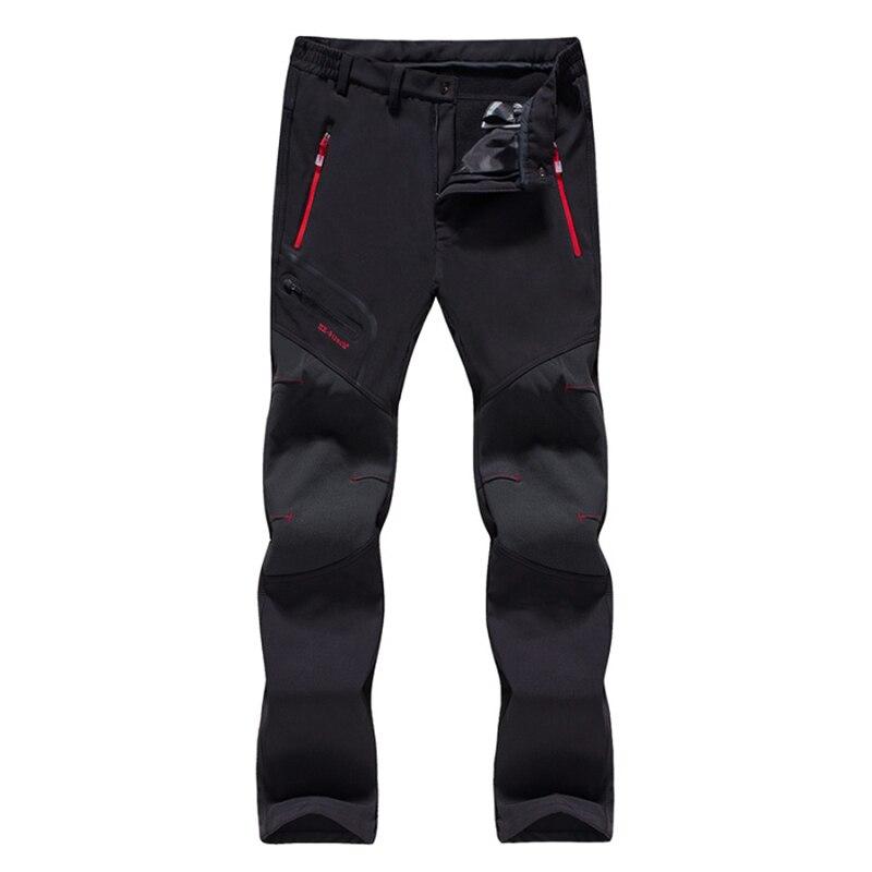 Pantalon thermique en polaire d'hiver pour femmes pantalon de Sport en plein air imperméable à l'eau rapidement sec pour la randonnée escalade Camping