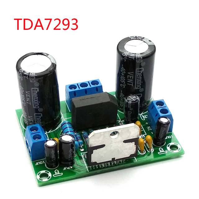 TDA7293 デジタルオーディオアンプ基板モノラルシングルチャネル ac 12v 50 v 100 ワット