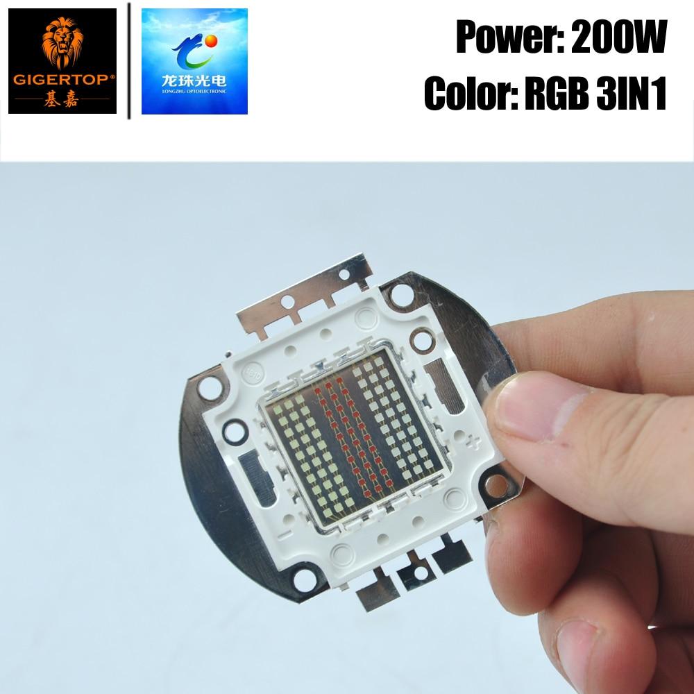 Freeshipping RGB 3IN1 Color Stage Light COB Led Lamp For Par Light Led Leko Light Profile Light Professtional Movie Video Light