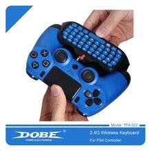 DOBE 2,4G Wireless Controller Tastatur Für PS4 Schlank Pro GamePad Marke Patentierte Mini Externe Tastatur Tastatur 022