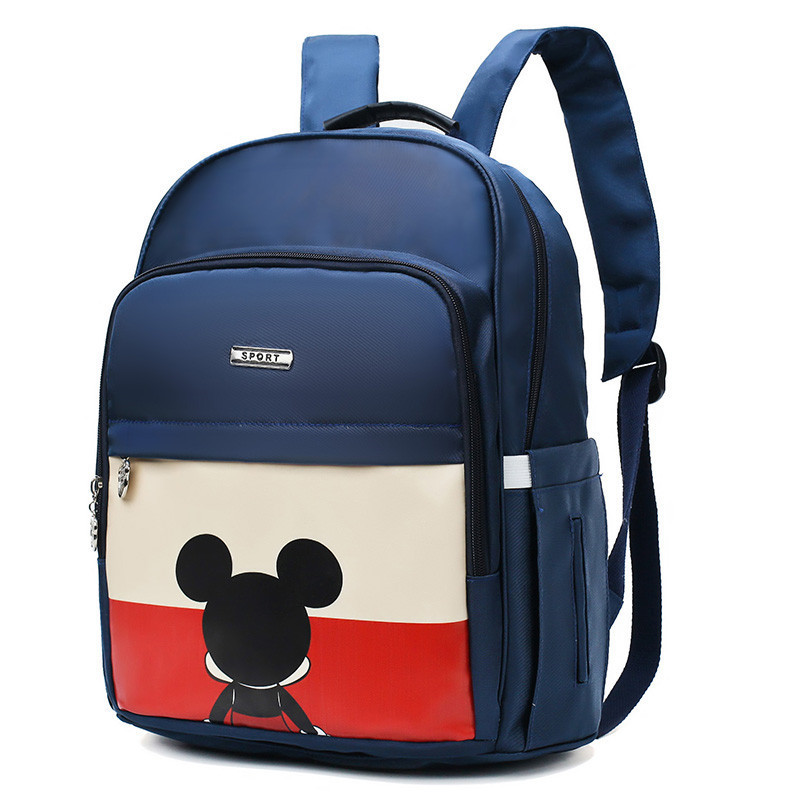 Disney Mickey Diaper Bag Maternity Nappy Backpack New Fashion Multifunctional Large Capacity Oxford Cloth Mummy Bag Mom Backpack
