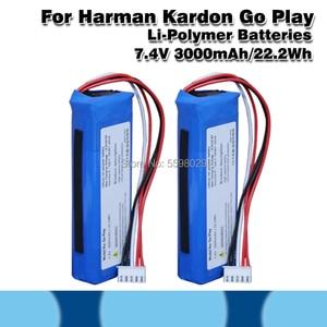 Сменный литий-полимерный аккумулятор для Harman Kardon Go Play Mini Player, 7,4 В, 3000 мАч