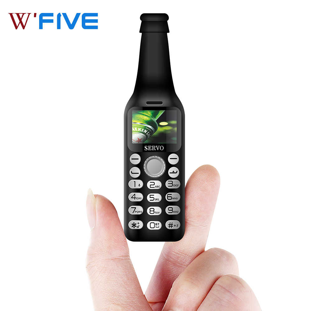 SERVO V8 Mini Telefon 2SIM Karte GSM Bluetooth Dialer Magic Sound Taschenlampe One Touch Recorder Wecker Kamera kleines Handy