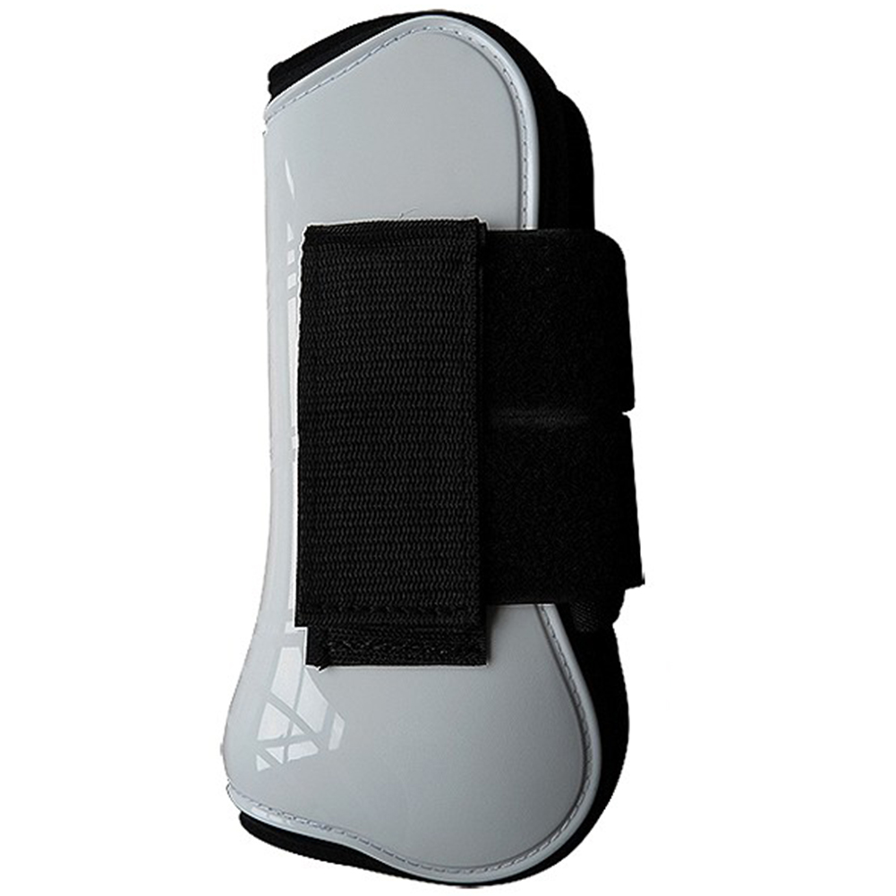 4pcs Equestrian Equipment Horse Tendon Boot Outdoor PU Shell Protective Gear Sports Leg Guard Shock Absorbing Training Running