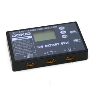 Image 2 - Pannello solare pieghevole flessibile DOKIO regolatore solare dedicato per batteria 12V regolatore solare USB 10A/20A regolatore solare