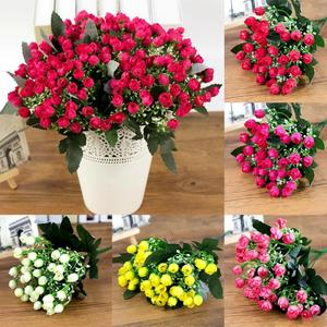 36heads / 1 bunch artificial decoration party silk fake flower peony home hotel decoration DIY wedding decoration Bouque