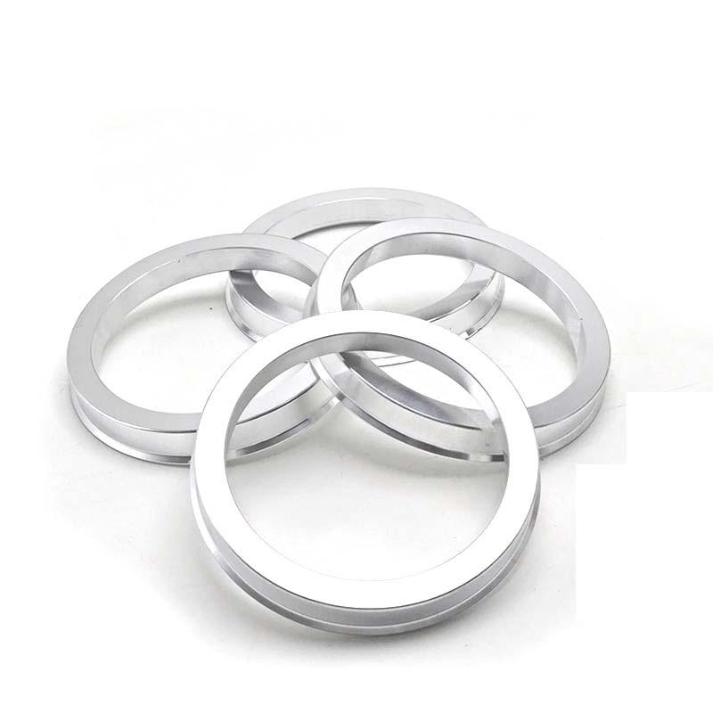 4pieces/lots 63.5/64.1/65.1/70.3/71.5  TO 73.1/72.6/71.5/70. 1 Hub Centric Rings  Aluminium Wheel Hub Rings Free Shipping
