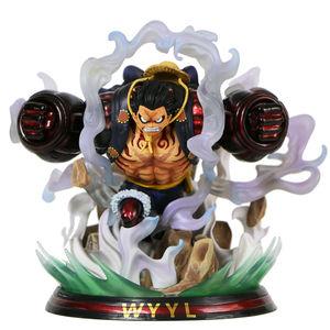 Image 5 - Japon animesi tek parça şekil tek parça Luffy heykeli PVC aksiyon figürü oyuncakları GK Luffy şekil dekorasyon modeli oyuncaklar çocuk hediye