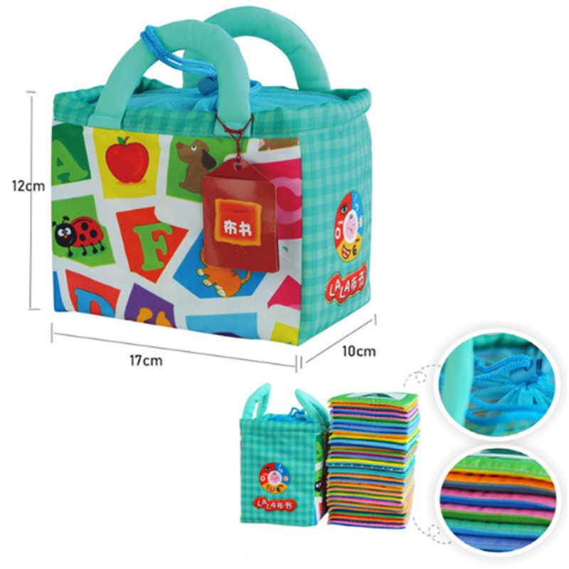ใหม่หนังสือตัวอักษรตัวอักษร Montessori บัตรทารกหนังสือสำหรับของเล่นเพื่อการศึกษาเด็กทารก Bab อ่านหนังสือของขวัญ
