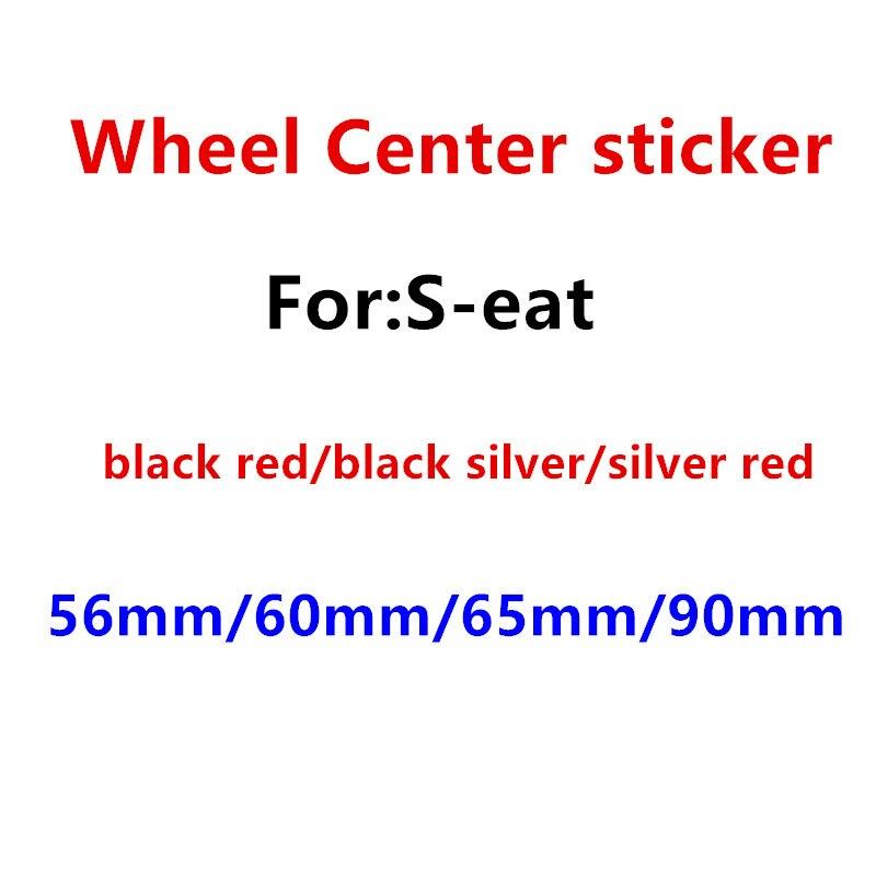 4 pçs 56mm 60mm 65mm 90mm centro da roda emblema do carro hub tampas emblema tampas adesivo estilo do carro acessórios automóveis