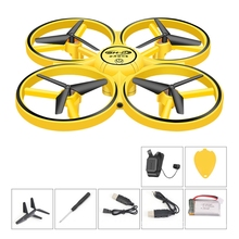 Toy Drone Flips Led-Light Mini with 360 Best Gift for Kid Remote-Sensing Smart-Watch