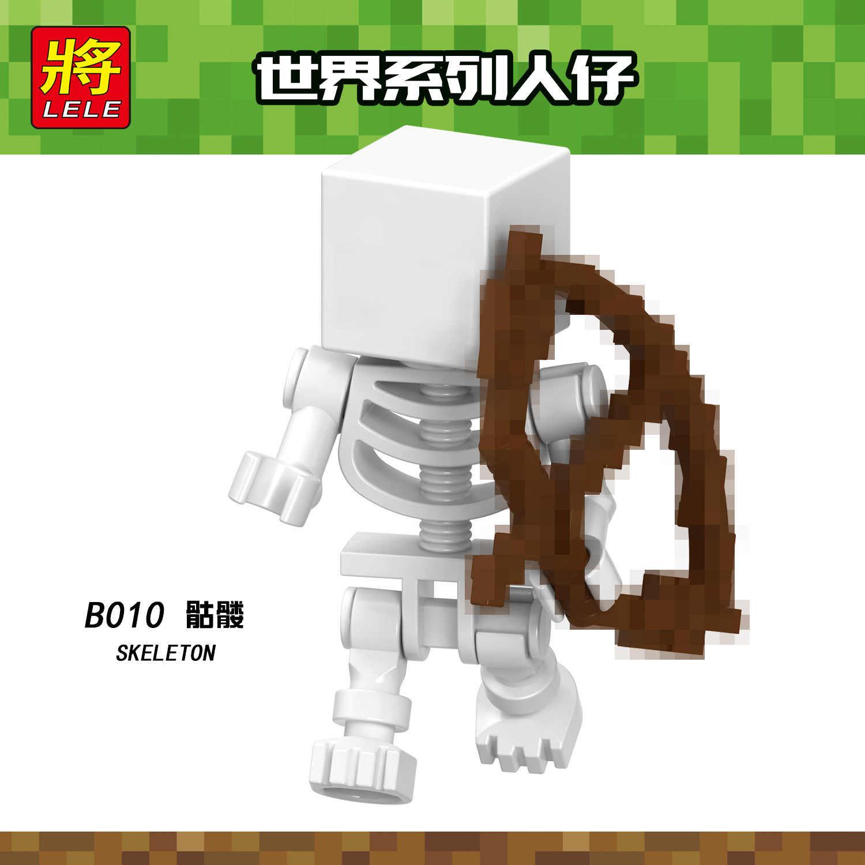 2019 quente minecrafting figuras blocos de construção conjuntos animais fazenda brinquedo educativo para crianças compatível legoing presente natal