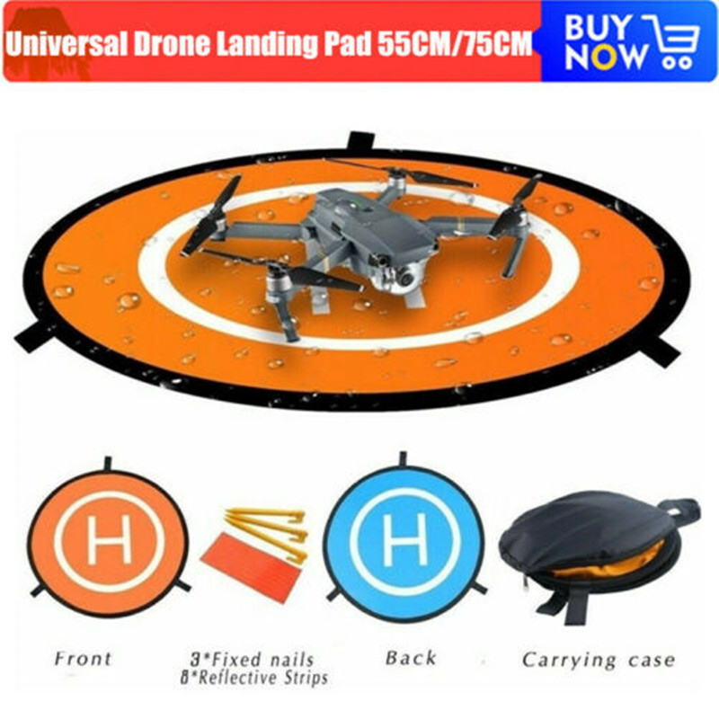 Mavic Air 2 Landing Pads 55cm 75cm Drones Landing Pad for DJI Mavic Mini Air Pro Spark Phantom FIMI RC Quadcopters Accessories