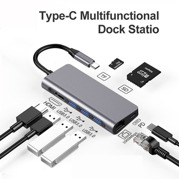 Docking Station for Macbook Pro/2018 Macbook Air/Huawei Matebook HP Dell xps Latitude Acer ASUS Lenovo Thinkpad Yoga USB C Dock usb c power charger for lenovo thinkpad x1 tablet lenovo yoga 910 910 13 910 13ikb 13 9' for acer switch alpha12 acer r13 acer
