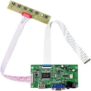Новый EDP плата управления монитор комплект для B140HTN01.B B140HTN01.C HDMI + VGA ЖК-светодиодный экран управления Лер плата драйвер