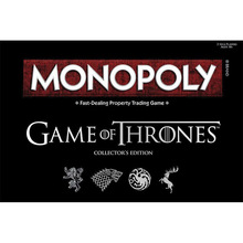Monopoly Game of Thrones English Version Real Deal Card Trading Game Collection Edition Board Games Family Party Adult Kids Toys