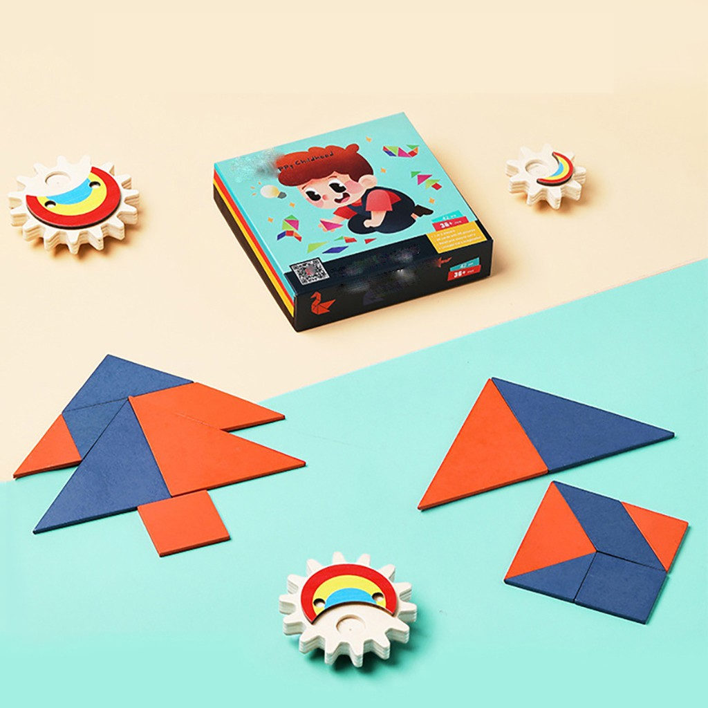 Puzzle Wooden Puzzle Toy For Preschool Children's Puzzle Game