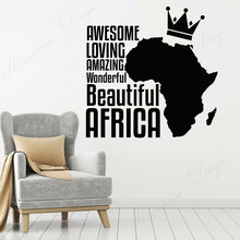 wall stickers school classroom quote phrase lettering words vinyl decals read room decor dorm removable murals wallpaper 4335 Beautiful Africa Continent Map Phrase Words Wall Sticker Vinyl Home Decor For Living Room Bedroom Decals Removable Murals 4348