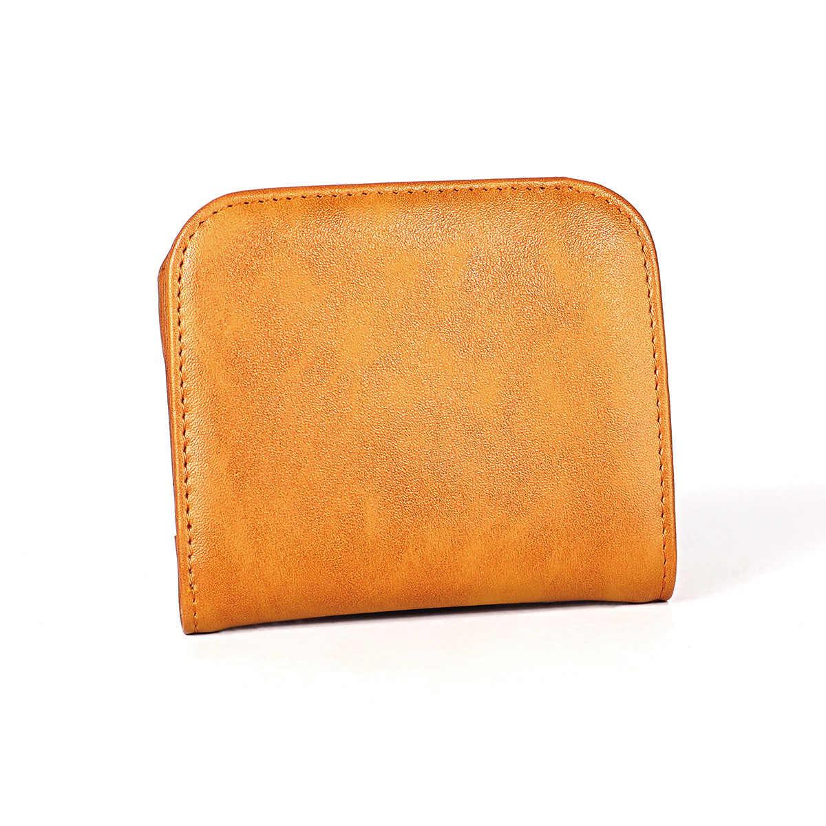 Mini portefeuille en cuir véritable violet pour femmes petit portefeuille de luxe pour femmes porte-carte d'identité en cuir de vache mince pour femmes