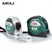 Портативная рулетка airaj измерительная лента 3/5/75 м высокоточная