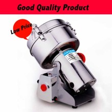 1000G Big Capacity Coffee Beans Grain Mill Powder Flour Machine Home Electric Swing Mill Herb Grinder xy 3500b 4500g big capacity electric flour mill powder machine