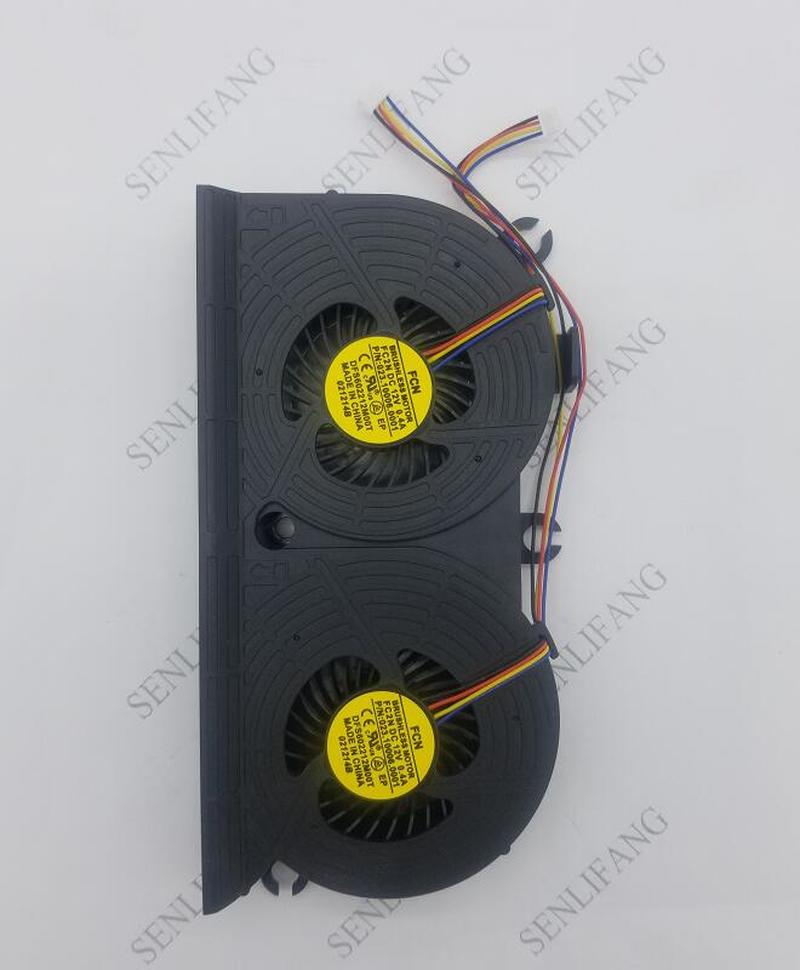 Cpu Cooling Fan For HP EliteOne 800 705 G1 AIO All-in-One PC Cooler MF80201V1-C010-S9A DC12V 3.96W 733489-001 DFS602212M00T FC2N