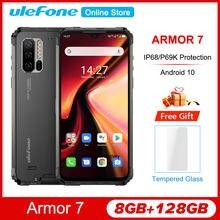 Ulefone Armor 7 6.3 ''Fhd + IP68/IP69K Robuuste Android 10 Helio P90 8Gb 128Gb Smartphone 2.4G/5G 48MP 4G 5000Mah Nfc Mobiele Telefoon