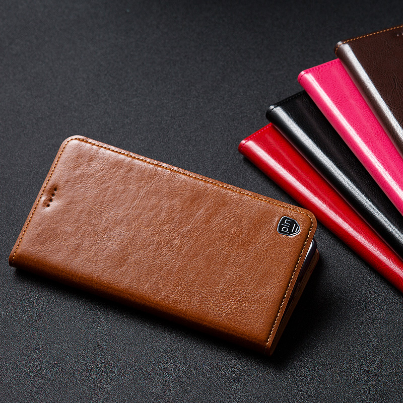 Genuine Leather <font><b>Case</b></font> For <font><b>Sony</b></font> <font><b>Xperia</b></font> 1 <font><b>10</b></font> II 2 5 20 XZ5 L4 1II 10II <font><b>Case</b></font> Flip Stand Phone <font><b>Cover</b></font> For <font><b>Sony</b></font> <font><b>Xperia</b></font> XZ5 L4 1II 10II image