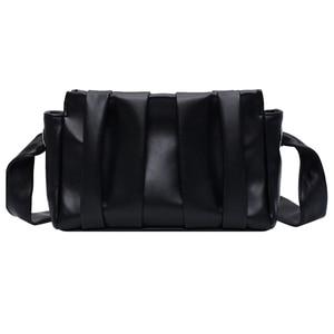 Image 5 - 2020 Fold Cloud Totes Bags for Women Underarm Bag PU Leather Womens Handbags Evening Clutch Purses Lady Dumplings Handbags New