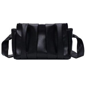 Image 5 - 2020 Fold Cloud Totes torby dla kobiet torba pod pachami PU skórzane torebki damskie wieczorne sprzęgło torebki Lady pierogi torebki nowe
