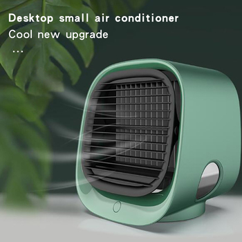 Mini Air Conditioner 5V USB Portable Cooling Fan Desktop Air Conditioning Humidifier Purifier Office Home Room Air Cooler Fan