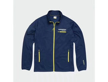 2020 Blue Team Fleece Motorcycle Polyester Zip Sweat Jacket Moto Motocross Racing Jacket