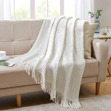 Throw Blanket Textured Solid Soft Bed Throw Rug Throws For Sofa Couch Decorative Knitted Blanket famvotar solid color 3 piece quilted bedspread fancy vertical pattern summer bedspreads sofa couch blanket all season throws