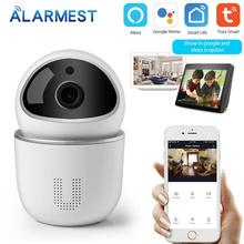 ALARMEST Tuya WiFi IP Camera 1080P Home Security WiFi Camera Google/Alexa Tuya Smart life Auto-tracking  Powered by Tuya