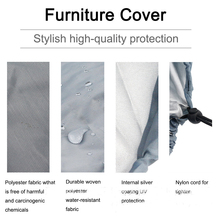 цена на Sun Chair Cover Waterproof Outdoor Stacking Chair Cover Garden  Patio Snow Protection Chairs Furniture Dropship item