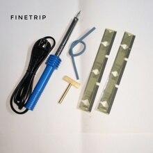 FINETRIP 1pc soldring ferro di saldatura Pistola + 2pcs per BMW Attrezzo di Riparazione del Pixel per BMW E39 E53 E38 cluster di Riparazione Per range rover