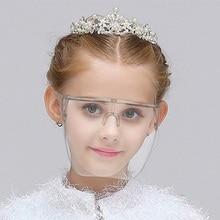 Girl Boy's Faceshield Protective Glasses Goggles Safety Blocc Glasses Anti-Spray Mask Protective Goggle Glass Sunglasses child's