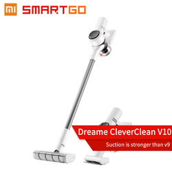 2020 Xiaomi Wireless Cyclone Filter Dreame V10 Handheld Cordless  Mi Carpet Sweep Dust Collector home Vacuum Cleaner Portable