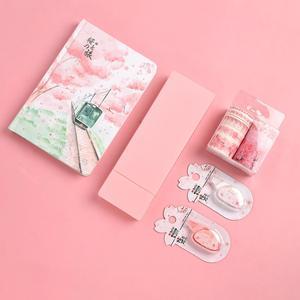 Image 2 - JIANWU 11pcs/set sakura series limited set cute Planner Diary  journal Stationery set Student gifts shcool supplies kawaii