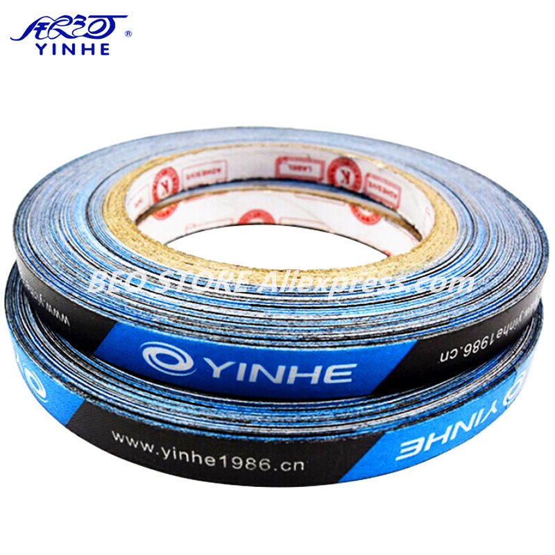 1pcs YINHE Edge Tape 1cmx25M For Table Tennis Racket Side Protector Ping Pong Bat Protective Tape Accessories