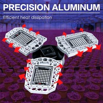 LED Grow Light Deformation Full Spectrum Phyto Lamp 100W 200W 300W Hydroponics Plant  Growth