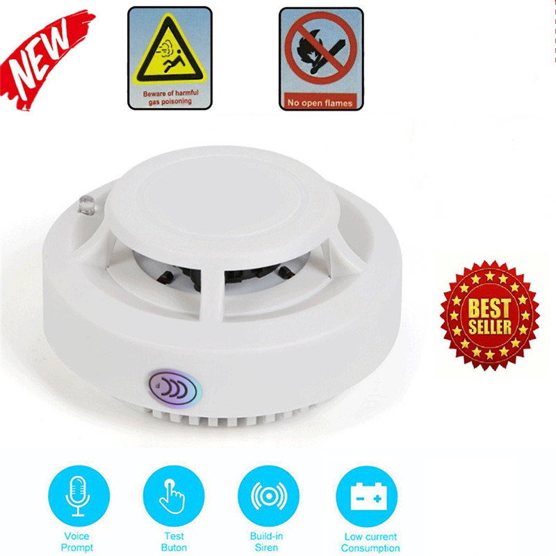 2019 New Arrival Smoke Carbon Fire Monoxide Detector Warning Alarm Gas Sensor Security Monitor