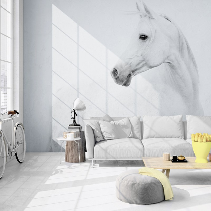 5D Northern European-Style TV Backdrop Modern Minimalist Pegasus 5D Wallpaper Mural 8D Living Room Bedroom TV Wall