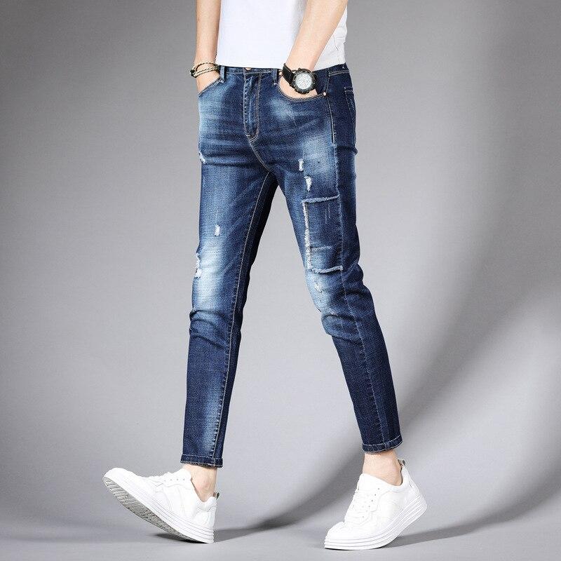 New Style Jeans Men's Wear Capri Pants