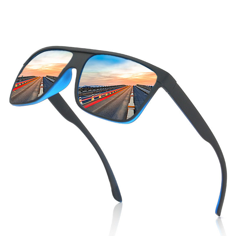 Black Matte Frame Polarized Sunglasses Men/Women Anti-Skidding Outdoor Sports Man/Weman Sunglass Dust Goggles/Eyewear/Shades